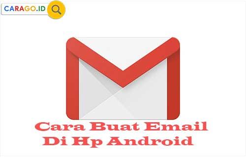 Cara Buat Email di HP Android