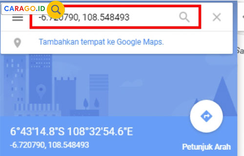 Cara Mencari Lintang dan Bujur Rumah di Google Maps