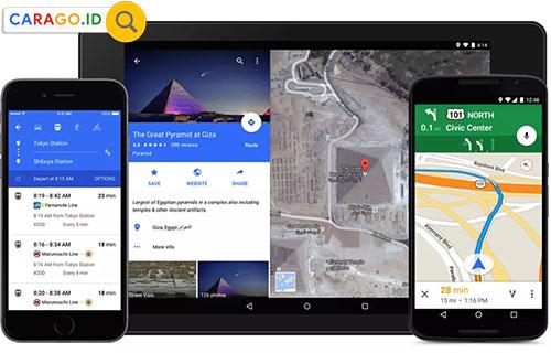 Cara Mencari Lintang dan Bujur di Google Maps Lewat Android