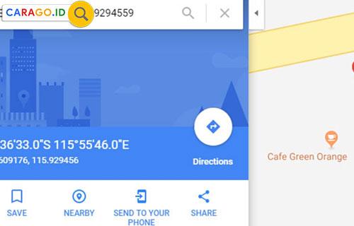Cara Mencari Lintang dan Bujur di Google Maps Lewat Laptop & Komputer