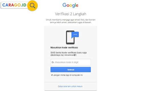 3 Cara Mengaktifkan Verifikasi 2 Langkah Di Android Carago