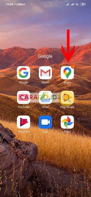 Buka Aplikasi Google Maps