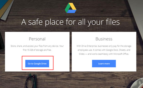 Buka Google Drive dari PC