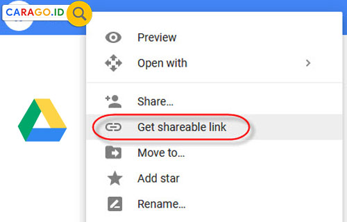 5 Cara Share Link Google Drive Lewat Android Pc 2020 Carago