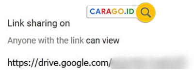 6. Lalu masukkan link yang tadi sudah di salin ke pesan email tersebut. Nantinya kamu sudah bisa mengirimkan file lebih dari 25MB ke email yang dituju tanpa ada batasan.