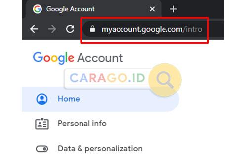 Buka Pengaturan Akun Google