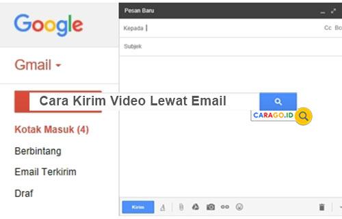 Cara Kirim Video Lewat Email