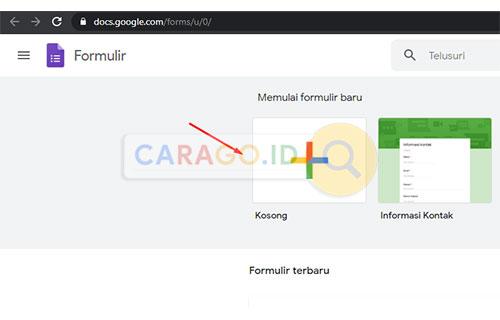 Buka Google Form