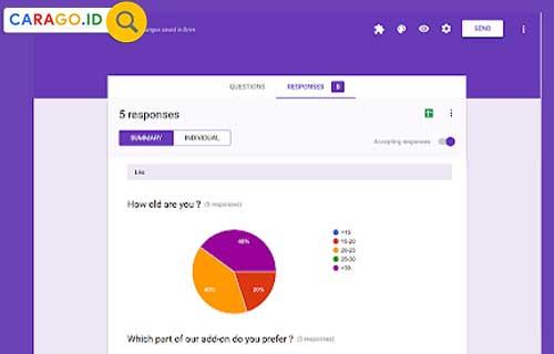 Cara Melihat Jawaban di Google Form