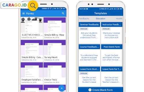 Cara Membuat Google Form dari HP