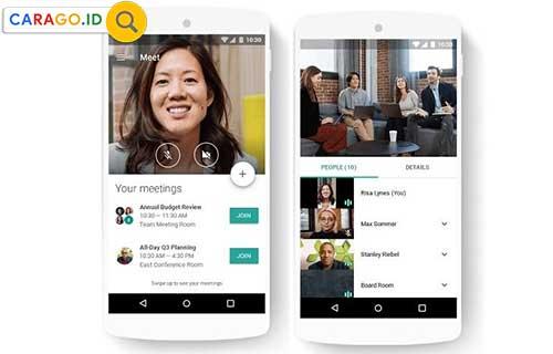 Cara Pakai Google Meet di HP