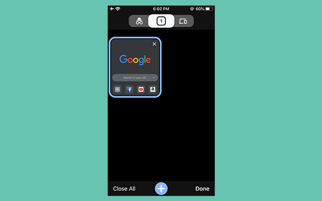 Chrome Dark Mode iOS