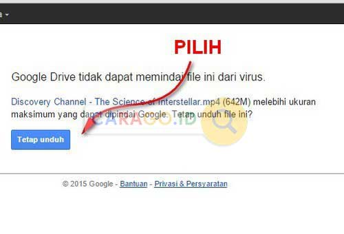 Pilih File yang Akan di Download