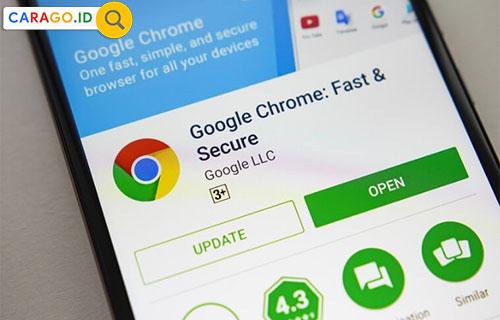 Update Google Chrome HP
