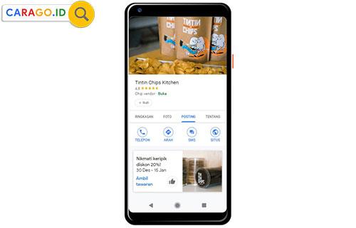 Cara Merubah Alamat di Google Business