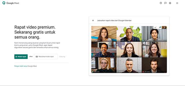 Buka Google Meet