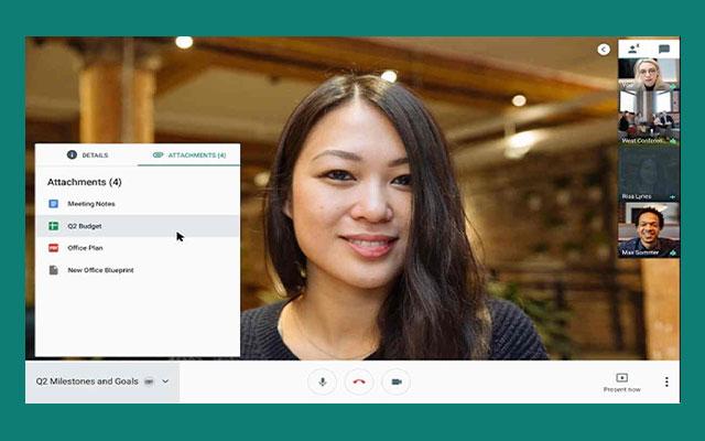 Cara Menjadi Host Google Meet PC