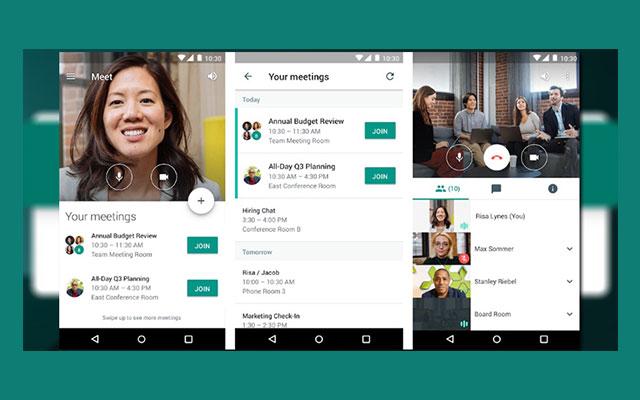 Panduan Menjadi Host Google Meet HP