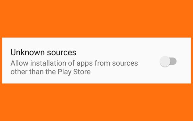 Aktifkan Unknown Source di HP Xiaomi