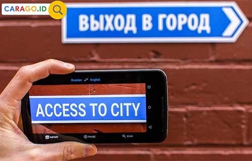 Cara Menggunakan Google Translate Camera