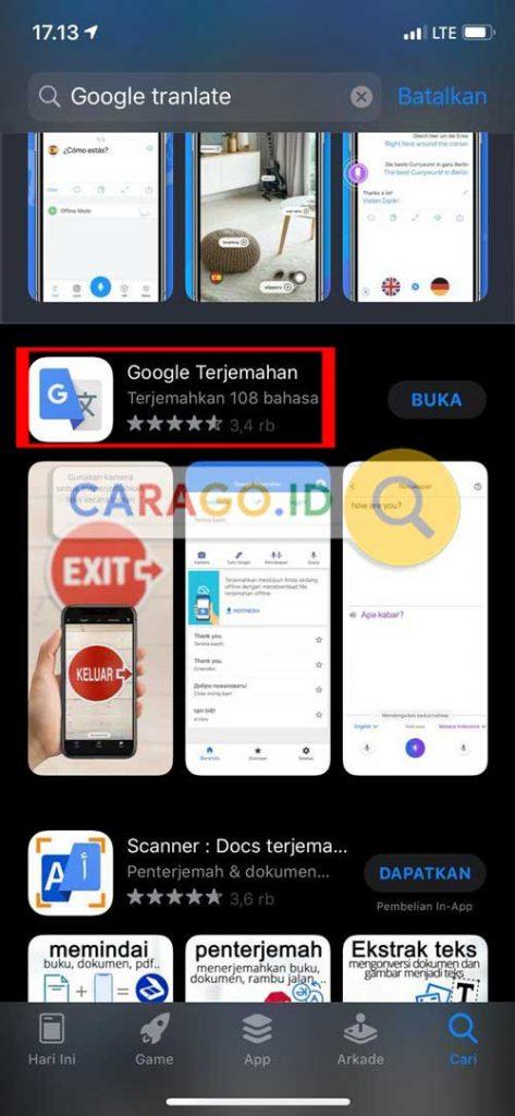 Download Aplikasi Google Penerjemah