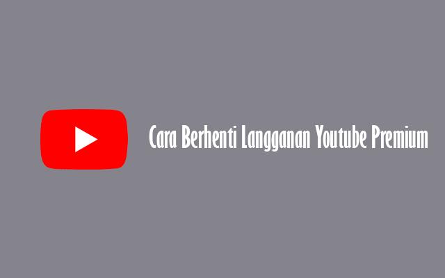 Temukan Cara Agar Youtube Premium paling mudah