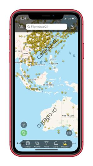 Buka Aplikasi Flightradar24