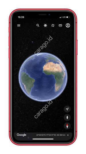 Buka Aplikasi Google Earth