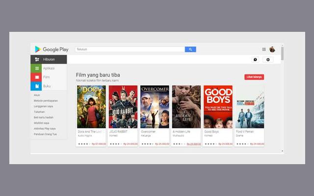 Buka Google Playstore