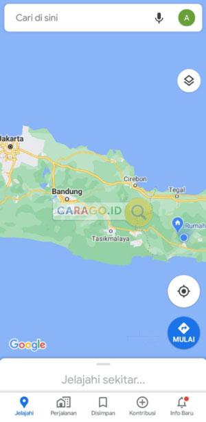 Buka Google Maps di HP Android