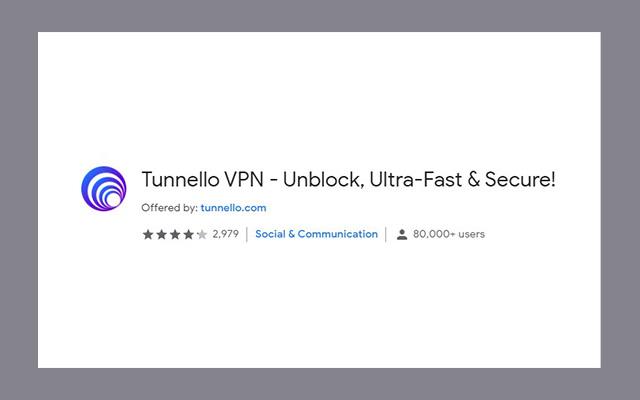 Tunnello VPN