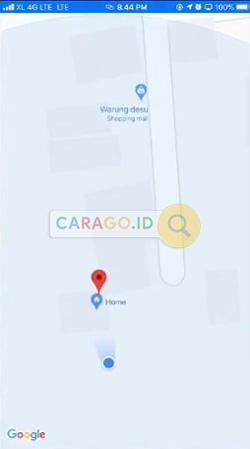 Buka Google Maps iPhone