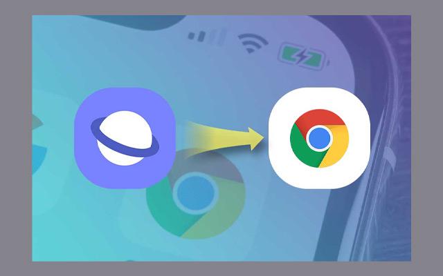 Mengganti Browser
