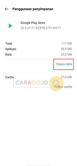 Ketuk Hapus Data